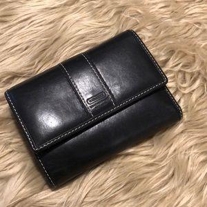 Coach Black/Purple Leather Wallet (A507)